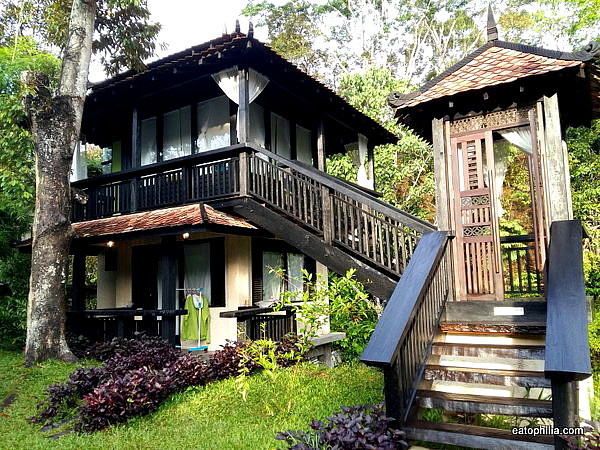 Riverside chalet of Chengal Hill Retreat Janda Baik