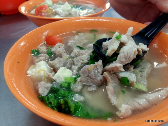 Top best food in Batu Pahat - Ah Soon mix pork soup