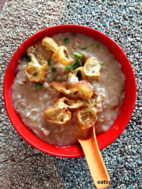 Top Best Food in Batu Pahat - pork porridge