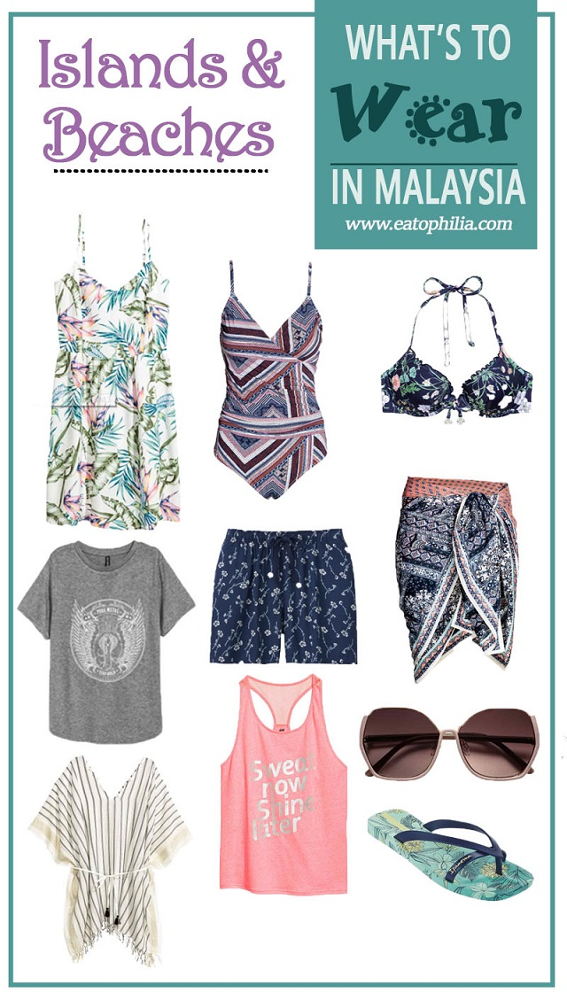 What to wear in Malaysia for beach and islands