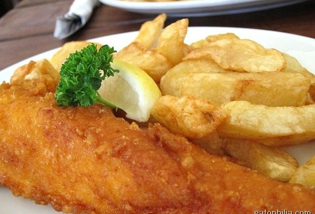 Rock and Sole Plaice in London serves one of the best fish and chips in London.
