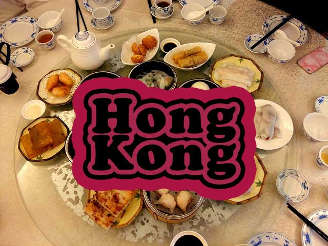 Hong Kong Food Guide with Map