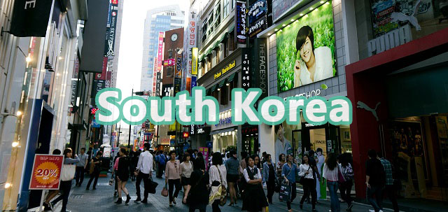 South Korea destinations