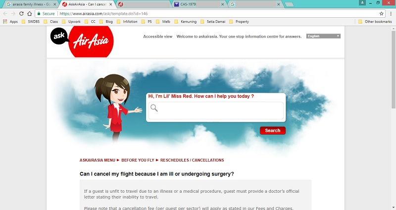 Airasia flight cancellation