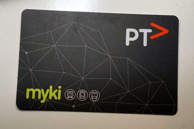 Myki transportation card