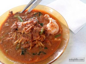 Mee Bandung Abu Bakar Hanipah is so delectable and umami-rich.