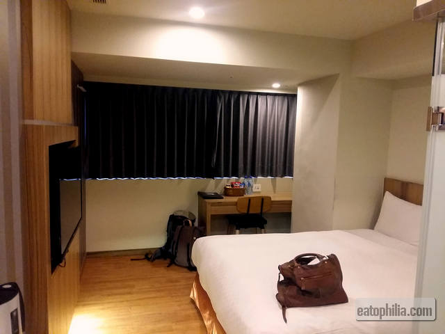 Double Deluxe Room in Smile Inn Taipei