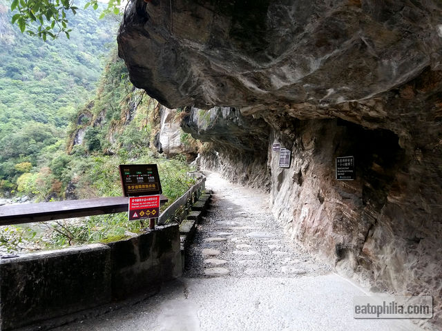 The start of Shakadang Trail